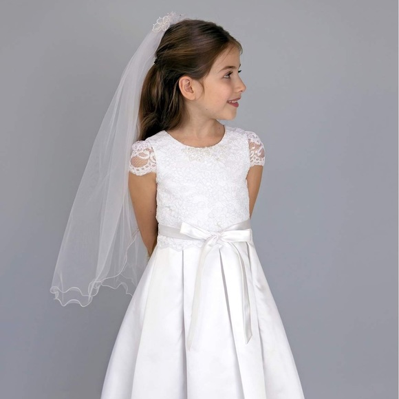 3684fa30883f Us Angels Dresses   Nwt First Holy Communion Dress From Nordstrom ...